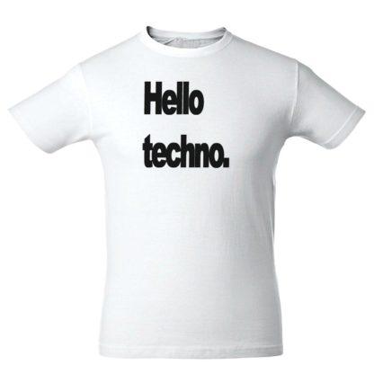 """Футболка """"Hello Techno"""""""