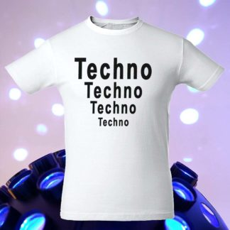 "Футболка ""Techno Techno Techno Techno"""