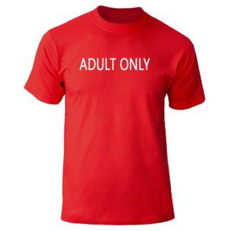 "Футболка ""adult only"""
