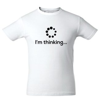 "Футболка ""I am thinking"""