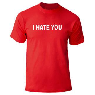 "Футболка ""I hate you"""