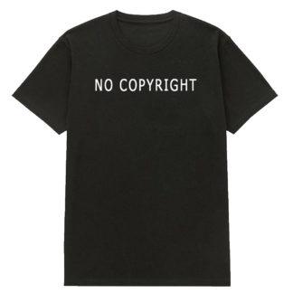 """Футболка """"No copyright"""""""