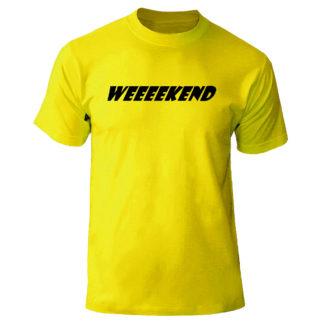 """Футболка """"WEEEEKEND"""""""